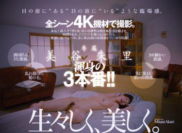 【4K動画】欲望剥き出しの汗と愛液が滴り落ちる濃密情交。 Standard Edition 美谷朱里